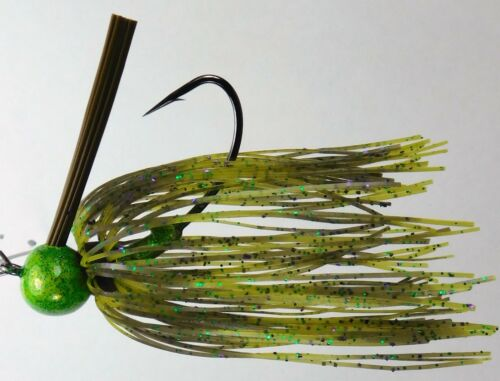Bob4Bass Pro Series Weedless Skirted Football Jigs #1