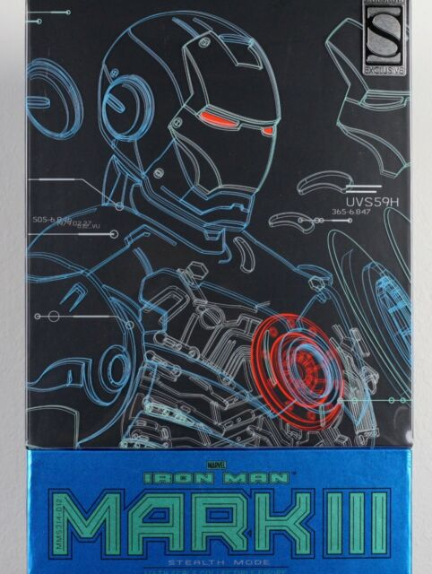 MARVEL Iron Man Mark III Stealth Mode Sixth Scale Hot Toys Summer Exclusive 2015