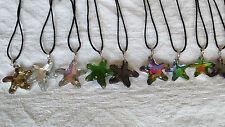 Joblot of 50 pcs Starfish design Glass Crystal Pendants wholesale lot 1
