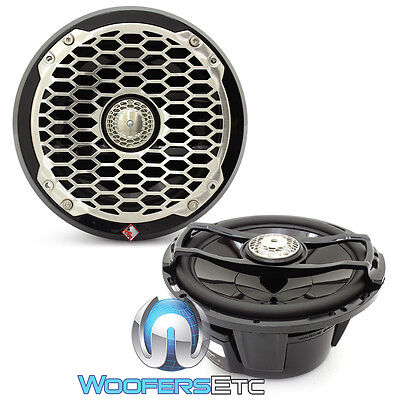 """ROCKFORD FOSGATE PM2652 6.5/"""" PUNCH 4-OHM MARINE BOAT WHITE COAXIAL SPEAKERS NEW"""