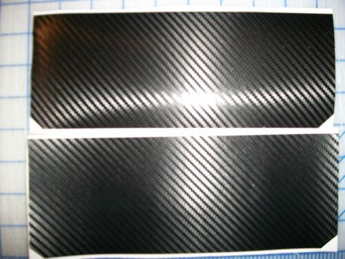 Sun Visor cover warning label decals vinyl sticker overlay Carbon Fiber D