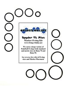 Spyder-TL-Plus-Paintball-Marker-O-ring-Oring-Kit-x-2-rebuilds-kits