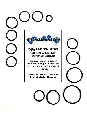 kits Spyder Victor Paintball Marker O-ring Oring Kit x 2 rebuilds