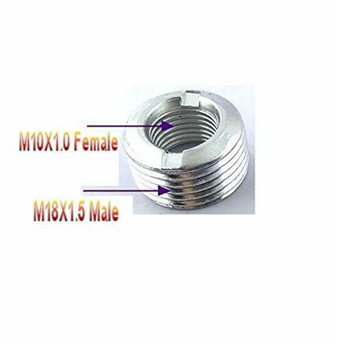 Passform Reduzierer Metrisch M18X1.5 Stecker Auf M10X1.0 Frau Teil