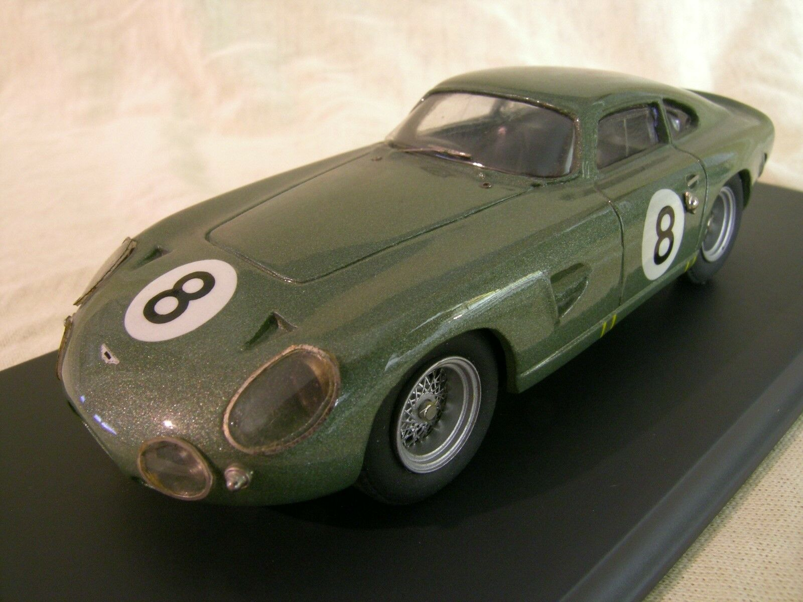 SMTS-MODELS RL44 ASTON MARTIN PROJECT 214 1963 8 vert + BOX SCALE 1 43