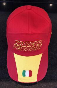 Puma-Limited-Edition-Special-Scuderia-Ferrari-Race-Cap-With-Adjustable-Back-NWT