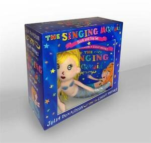 The-Singing-Mermaid-Book-and-Toy-Book-amp-Toy-by-Donaldson-Julia-NEW-Book-Pa