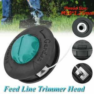 Universal Lawn Mower Line Strimmer String Trimmer Head Brush Cutter Black