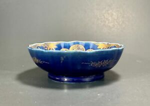 VERY Fine Antique Japanese Imari Porcelain Scalloped Bowl