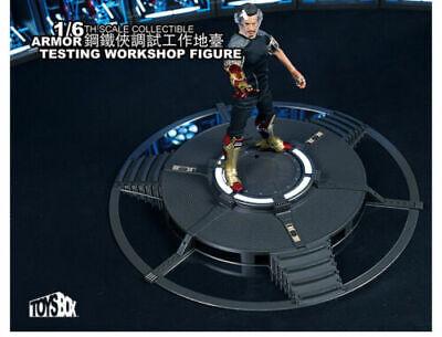 TOYS-BOX 1//6 Armor Testing Workshop Figure TB072 LED Indicator Remote Control
