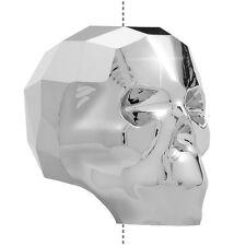 Swarovski 5750 Crystal Skull Bead Light Chrome 19mm Pack of 1 (M56/1)