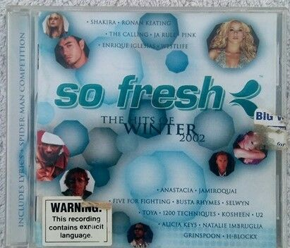So Fresh the Hits of Winter 2002 cd various artists compilation