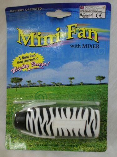 Trendy mini ventilateur avec mélangeur avec imprimé animal mi36