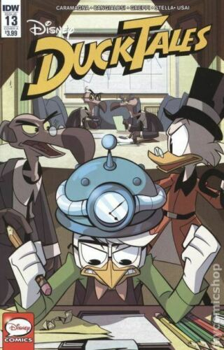 Ducktales #13 Cover A VF//NM 2018 IDW Vault 35
