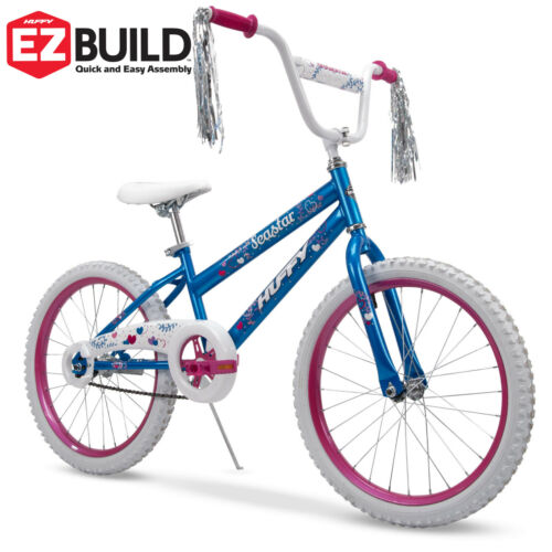 Huffy 20Inch Sea Star Girls Bike Blue and Pink