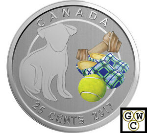 2017-039-Love-my-Dog-039-Colorized-25-Cent-Coin-17904