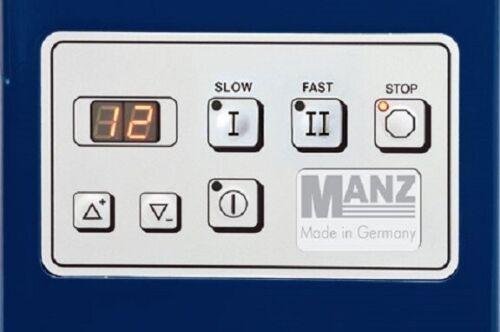 MANZ Knetmaschine LEA5 2G - 2 Geschwindigkeiten - schwere Brotteige - Edelstahl