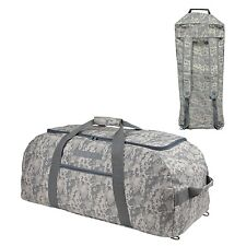 "31"" LARGE ACU Military Dufflel Bag (Turn into Backpack) Travel Gym  Camouflage"