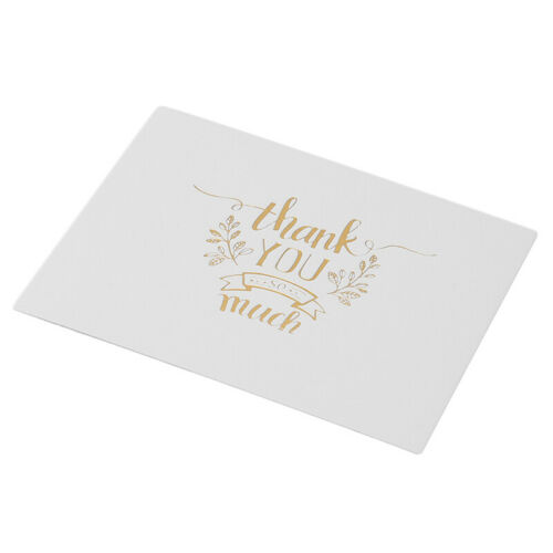 50Pcs//Pack Mini Cards Creative Message Card Greeting//Thank you//Blessing Card SH