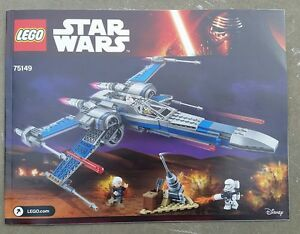 INSTRUCTIONS-ONLY-Lego-75149-Star-Wars-Resistance-X-Wing-Fighter