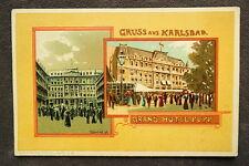 Künstlerkarte - Karlsbad Grand Hotel nach V.Havlicek / Verlag Brünn  / AK 25