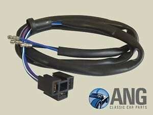 image is loading triumph-tr7-tr8-sealed-beam-headlamp-wiring-harness-
