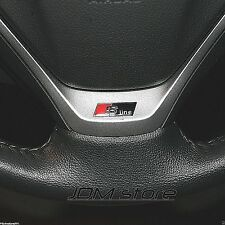 S line steering wheel black STICKER EMBLEM fits: AUDI S A4 S4 A6 Q7 TT QUATTRO