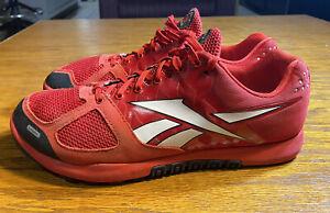 Reebok-Crossfit-Nano-Men-039-s-Cross-Training-Shoes-Black-Red-Size-10-5