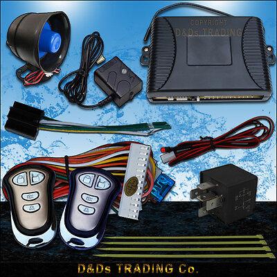 NEW CAR ALARM / SHOCK SENSOR IMMOBILISER/ REMOTE SYSTEM