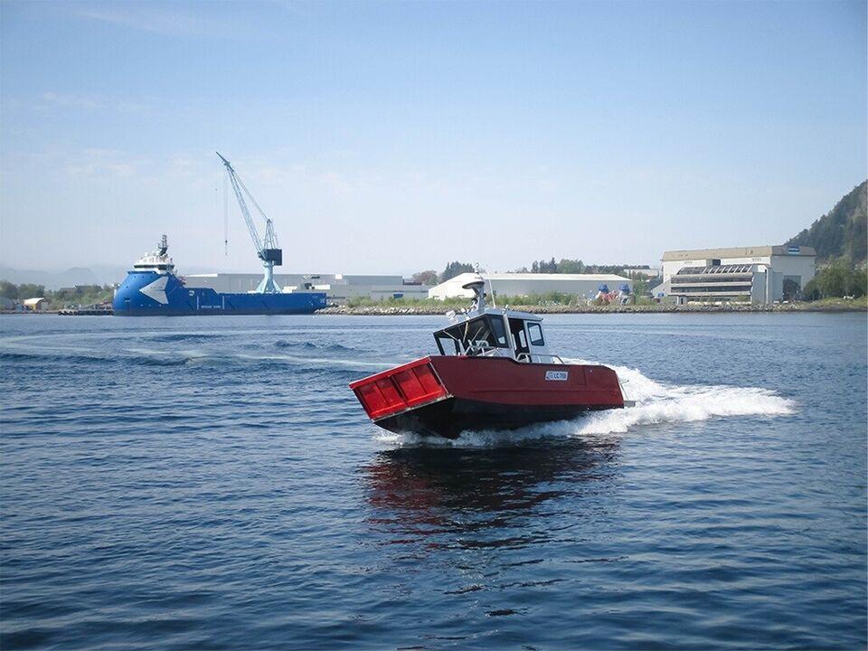 ALUTEC LC 700 Landing Craft arbejdsbåd, fiskerbåd