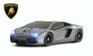 Lamborghini-Aventador-Wireless-Car-Mouse-Grey-IDEAL-CHRISTMAS-GIFT-OFFICIAL