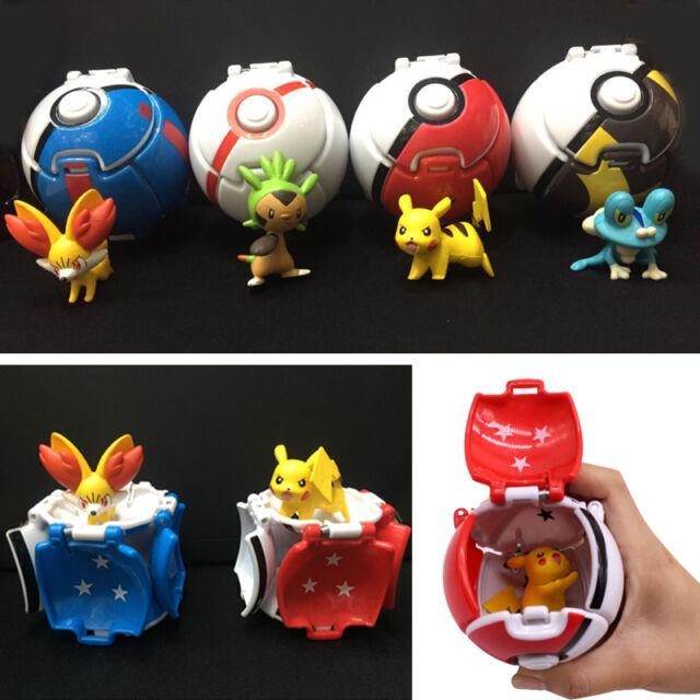 Pokemon Pokeball Cosplay Pop-Up Master Poke Ball Pikachu Lets Go Toy Kids Ultra