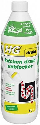 HG Kitchen Drain Unblocker 1 Litre 8711577135638 | eBay