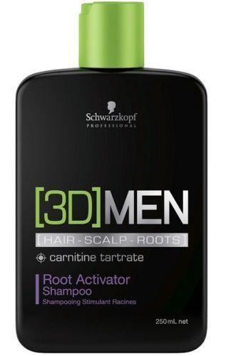 Schwarzkopf [3D]MEN Pflege Root Activator Aktivierendes Shampoo 250ml