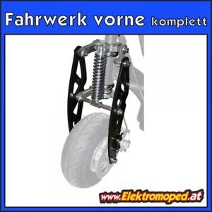 Onderdelen-elektrische-Scooters-Complete-front-chassis-ball-bearing