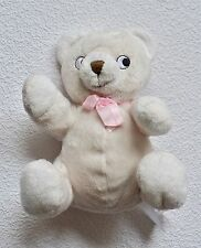 H&M * Bär Teddy Teddybär Bärchen mit einer Größe : 16 cm & einer rosa Schleife *