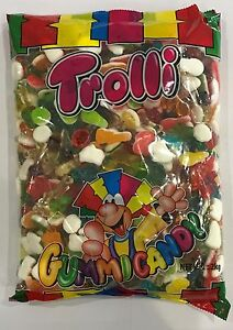 Details about 905937 2kg BULK BAG OF GUMMI CANDY - TROLLI GROOVY MIX! -  GREAT VALUE!!