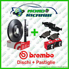 KIT DISCHI + PASTIGLIE FRENO ANTERIORI BREMBO AUDI A3 8L 1.9 TDI 130CV  96-> 03