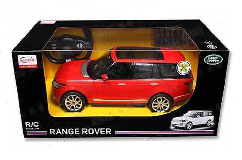 Rastar 49700 1:14 scala LAND ROVER RANGE ROVER SPORT R/C Auto in Rosso