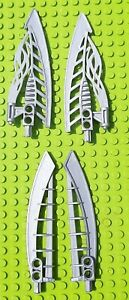Lego-Bionicle-armes-2x-Magma-epee-Lava-Board-Half-44035-Air-2x-Katana-44033
