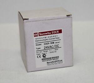 new samwha eocr 3dm electronic digital overload relay ebay rh ebay com