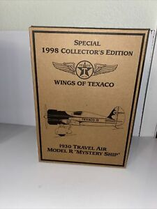 Wings Of Texaco 1930 Travel Air Model R, Special 1998 Collector's Edition Plane