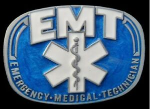 EMT-Blue-Emergency-Medical-Doctor-Occupation-Belt-Buckle-Buckles