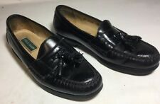 59571bcaea6 Cole Haan Mens Pinch Shawl Bow Tassel Loafer Shoes Black C02691 US ...
