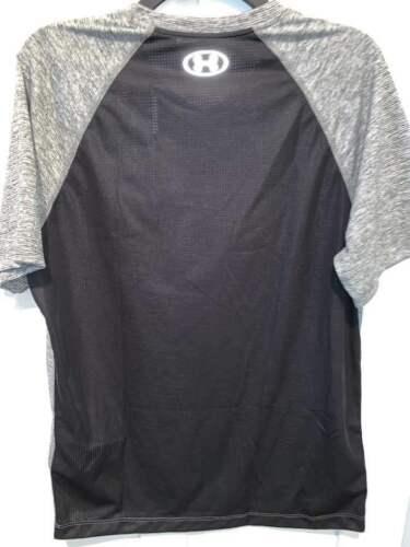 NWT Under Armour Men/'s Short Sleeve UA Heather Black Threadborne Top M XL NEW