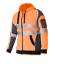 Hi-Vis-Jacket-Hoodie-Jumper-3M-Reflective-Fleece-Zip-AS-NZS-1906-4-4602-1-2011 thumbnail 4