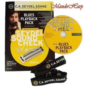 Seydel-Harmonica-Instruction-Set-40003-Soundcheck-Vol-2-Blues-Playback-Pack