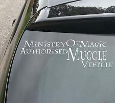 Ministry of Magic Muggle Vehicle Car/Window JDM VW DUB EURO Vinyl Decal Sticker