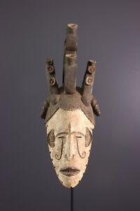MASQUE-IGBO-AFRICAN-ART-AFRICAIN-PRIMITIF-ARTE-AFRICANA-AFRIKANISCHE-KUNST