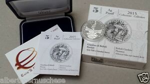 5 euro Italia 2015 ag BE PP Fs proof giardin BOBOLI Firenze Italie Italy Italien 9oZaVApq-07140842-281717963